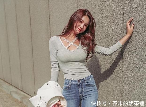 女孩|阳光朝气的牛仔裤女孩,展现青春张扬感,魅力十足!